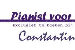 pianist, feest