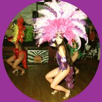 braziliaans, feest, samba